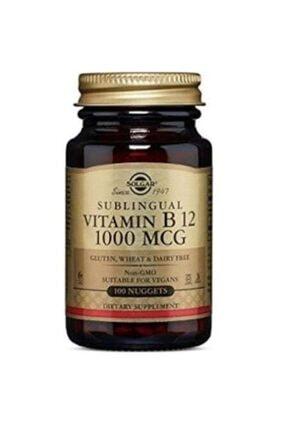 Solgar Vitamin B12 1000 Mcg 100 Dilaltı Tablet 0