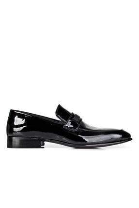 Cabani Erkek Siyah Hakiki Deri Klasik Ayakkabı 0YES22AY004428 1
