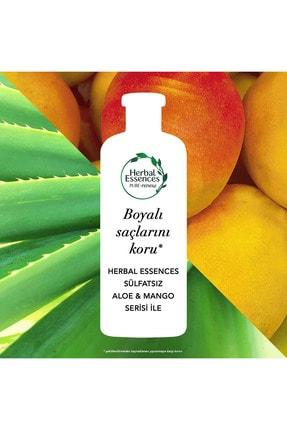 Herbal Essences Sülfatsız Renk Koruma Ve Nem Aloe + Mango Şampuan 380 Ml + Saç Bakım Kremi 275 Ml 3
