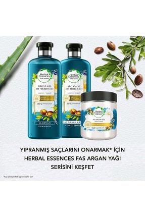 Herbal Essences Şampuan Onarıcı Fas Argan Yağı 400 Ml + Saç Bakım Kremi 360 Ml 4