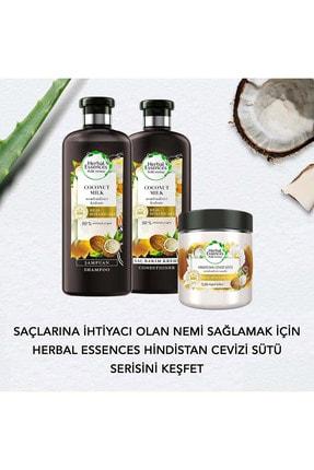 Herbal Essences Hindistan Cevizi Sütü Saç Bakım Seti 4