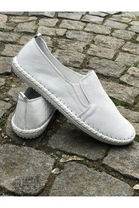 FREEFOUR Hakiki Deri Günlük Rahat Kadın Ayakkabı 2