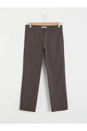 LC Waikiki Erkek Gri Chino Pantolon 0
