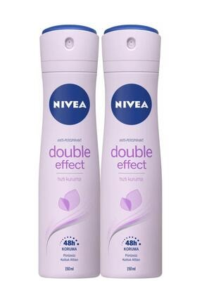 Nivea Int Nıvea Deo Bayan 150 Ml Double Effect X2 0