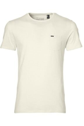 Erkek Krem Slim Fit T-shirt resmi