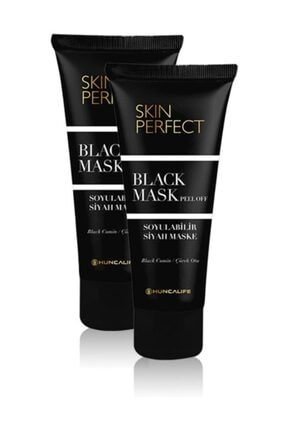 Hunca Skin Perfect Black Mask 2'li Set 0