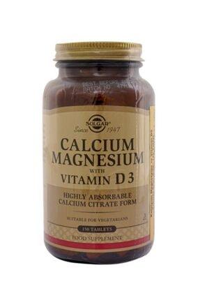 Solgar Calcium Magnesium Vitamin D3 150 Tablet 0