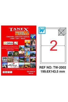 Tanex Lazer Etiket 199,6x143,5 Mm Tw2002 0