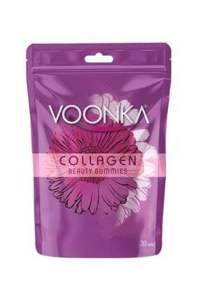 Voonka Beauty Collagen Gummıes - Hidrolize Kollajen Ve C Vitamini Içeren Takviye Edici Gıda 0