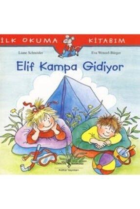 İş Bankası Kültür Yayınları Ilk Okuma Kitabım - Elif Kampa Gidiyor - 0