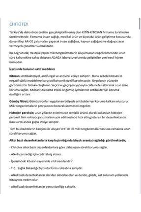 Chitotex Chıtotex Alkolsüz Kokulu El Dezenfektanı 20lt 1