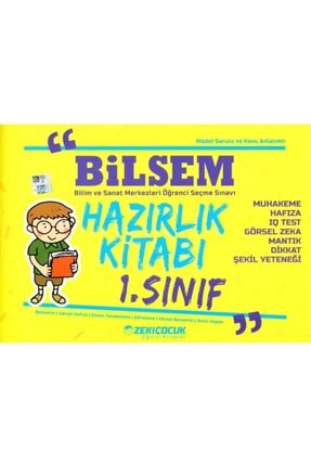 Zeki Çocuk Yayınları Zeki Çocuk Bilsem 1.sınıf Hazırlık Kitabı 0