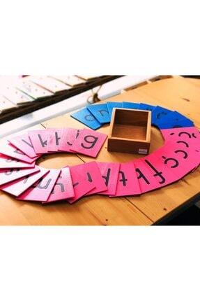 BALATOYZ Montessori Zımpara Harfler ( Büyük Harfler ) 4