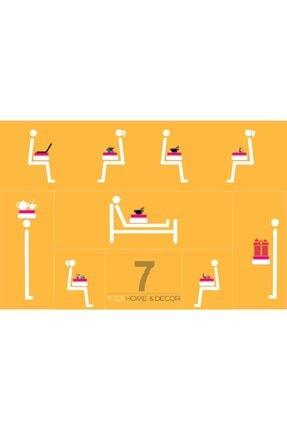 Yedi Home&Decor Keyif Tepsisi_halstatt (bilgisayar Ve Kahvaltı Tepsisi) 4