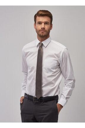Altınyıldız Classics Erkek Beyaz Regular Fit Klasik Gömlek 2