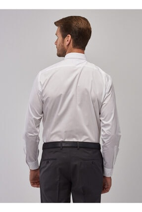 Altınyıldız Classics Erkek Beyaz Regular Fit Klasik Gömlek 3