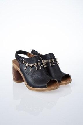 Pierre Cardin PC-6077 Siyah Kadın Sandalet 2