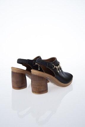 Pierre Cardin PC-6077 Siyah Kadın Sandalet 3
