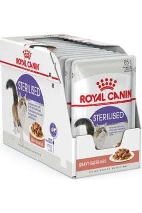 Royal Canin Sterilised 37 Gravy Kısırlaştırılmış Kedi Maması 85 Gr X 12 Adet 0