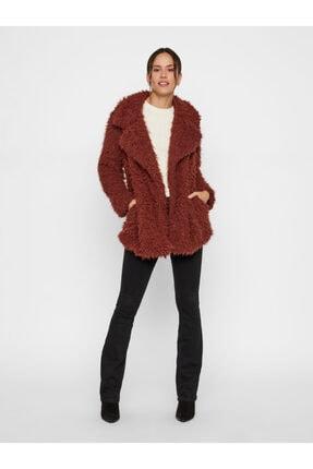 Vero Moda Kadın Kızıl Kahverengi Suni Kürk 10217012 VMJAYLAMEG 10217012 0