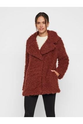 Vero Moda Kadın Kızıl Kahverengi Suni Kürk 10217012 VMJAYLAMEG 10217012 1