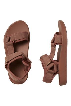 Vero Moda Kadın Kiremit Ayarlanabilir Bantlı Rahat Sandalet 10231459 VMMARY 0