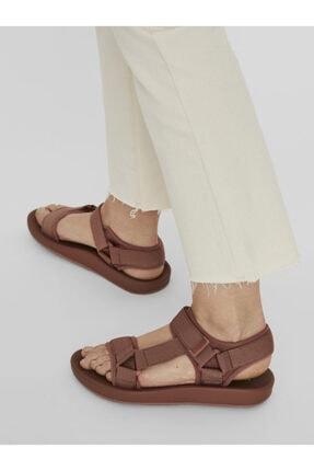 Vero Moda Kadın Kiremit Ayarlanabilir Bantlı Rahat Sandalet 10231459 VMMARY 2