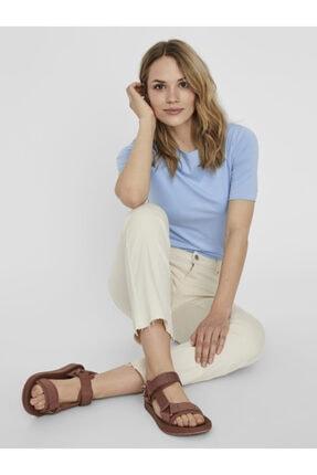Vero Moda Kadın Kiremit Ayarlanabilir Bantlı Rahat Sandalet 10231459 VMMARY 3