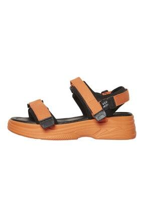 Vero Moda Kadın Turuncu Ayarlanabilir Bantlı Yürüyüş Sandaleti 10228981 VMBENILLA 1