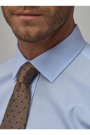 Altınyıldız Classics Erkek Açık Mavi Regular Fit Klasik Gömlek 4