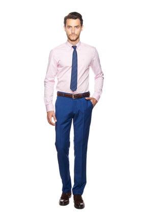Altınyıldız Classics Erkek Pembe Tailored Slim Fit Desenli Gömlek 4R2017101109 1