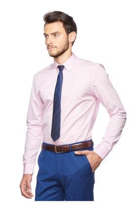 Altınyıldız Classics Erkek Pembe Tailored Slim Fit Desenli Gömlek 4R2017101109 2