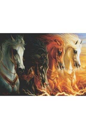 Anatolian Puzzle Mahşerin Dört Atı 1000 Parça Puzzle 3116 0
