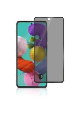 Evimpazar Samsung Galaxy A51 Gizlilik Filtreli Cam Hayalet Ekran Koruyucu Cam 1