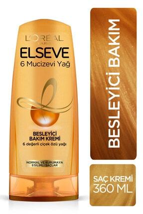 Elseve 6 Mucizevi Yağ Saç Kremi 360 ml 0