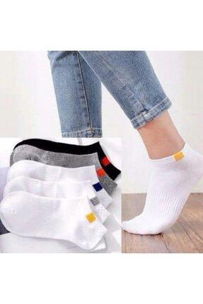 BGK Unisex 5'li Spor Patik Çorap Yıkanmış 1