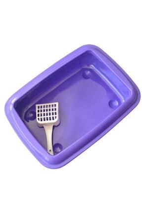 CCA Açık Kedi Tuvalet Kabı Kürek Hediyeli 0