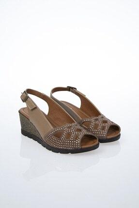 Pierre Cardin PC-6036 Vizon Kadın Sandalet 2