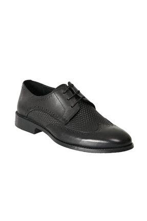 Altınyıldız Classics Erkek Siyah Klasik Deri Ayakkabı 0