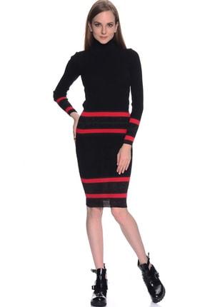 LİMON COMPANY Kadın Siyah Kalem Etek 501961484 0