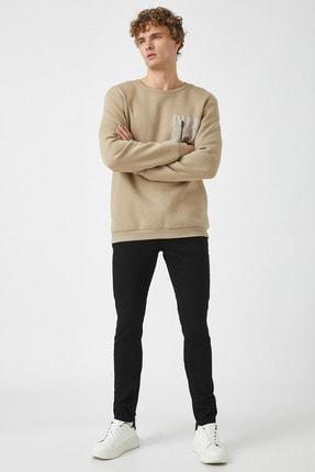 Koton Erkek Siyah Jeans 1KAM43002LD 3