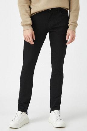 Koton Erkek Siyah Jeans 1KAM43002LD 4
