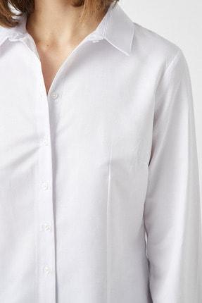Koton Poplin Gömlek Pamuklu Basic 4