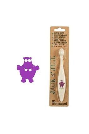 Jack N'Jill Diş Fırçası Ve Diş Macunu Seti Hippo Aromasız Set 1