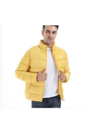 Erkek Sarı Şişme Mont kap0404