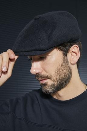 Sateen Men Erkek Siyah D.Bechkam Desenli Şapka 2
