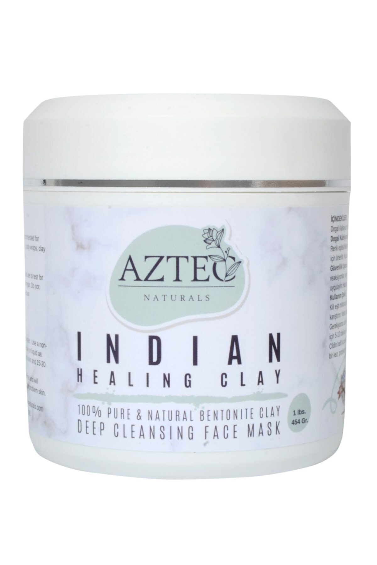 Kil Maskesi Indian Healing Clay Yüz Maskesi 454 Gr.