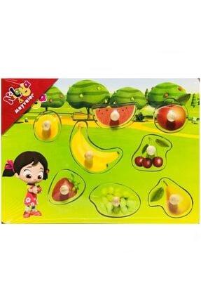 Pal Niloya Ahşap Meyveler Puzzle 0