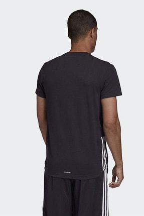 adidas M D2m Motion Te Erkek Siyah Antrenman Tişört Gd5283 2