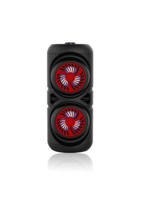 Zore ?zqs-4221 Bluetooth Speaker With Fm Radio Renk Kırmızı 0